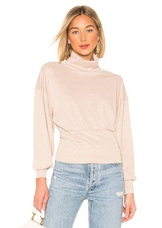 Free People Glam Turtleneck Sweater
