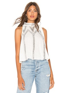 Free People Glitter City Top