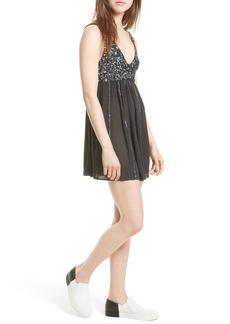 Free People Glitter Girl Minidress