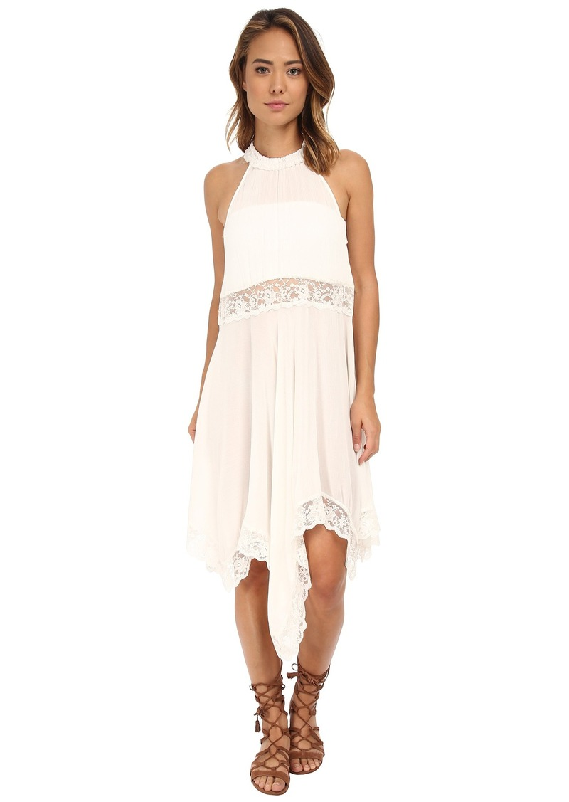Free People Go Lightly Gauze & Lace Lots of Layers Slip