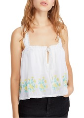 Free People Golden Hour Embroidered Camisole