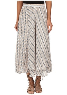 Free People Good For You Printed Skirt