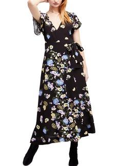 Free People Gorgeous Jess Wrap Maxi Dress