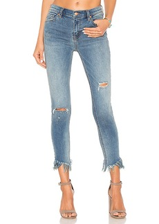 Free People Great Heights Frayed Skinny Jean