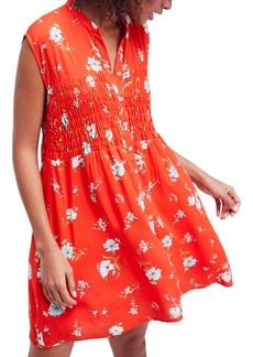 Free People Greatest Day Smocked Minidress