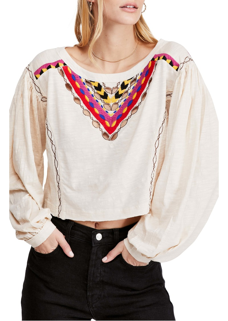 Free People Hand Me Down Top