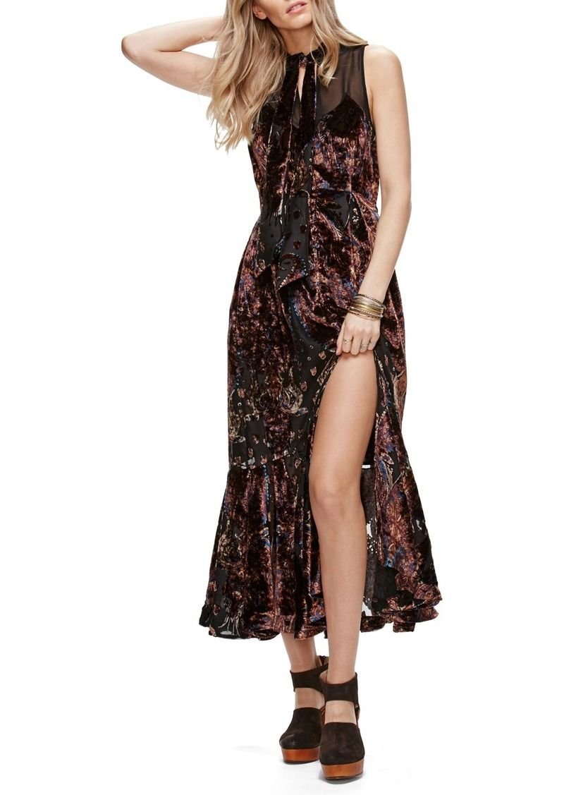 9e796df335 Free People Free People Hands to Hold Burnout Velvet Maxi Dress ...