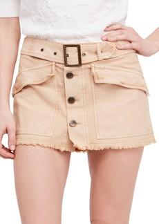 Free People Hangin' On Tight Miniskirt