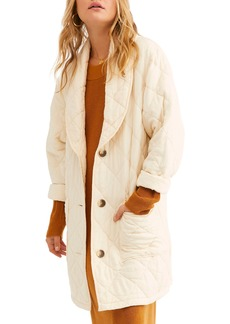 Free People Happy Day Dreamer Quilted Jacket