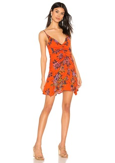 Free People Happy Heart Mini Dress