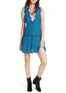 Free People Heart in Two Lace Minidress