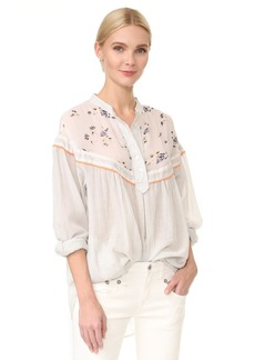 Free People Hearts and Colors Top