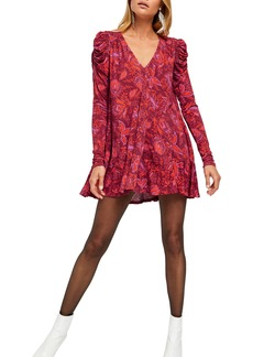 Free People Hello Lover Print Tunic