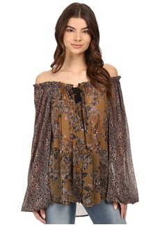 Free People Hendrix Off the Shoulder Blouse