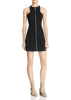 Free People High Neck Cool Mini Dress