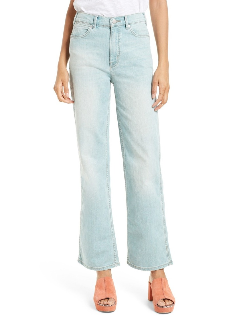 Free People High Waist Flare Leg Jeans