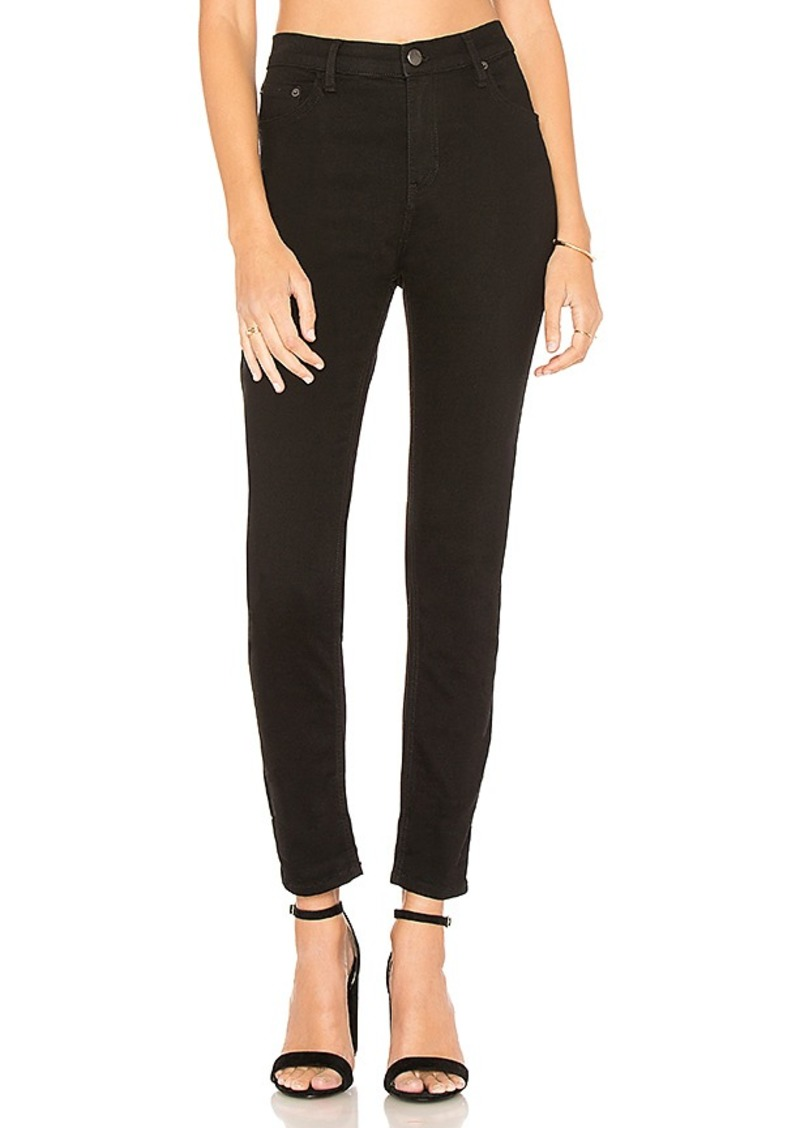Free People High Rise Long And Lean Jean