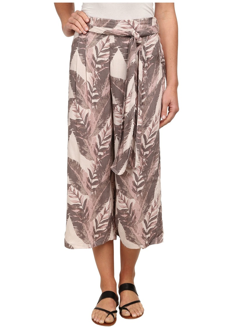 Free People High Rise Printed Culottes