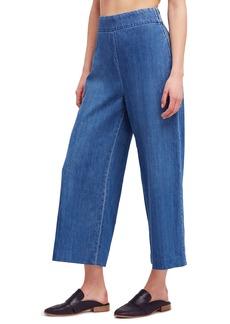 Free People High Waist Crop Wide Leg Jeans