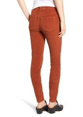 Free People High Waist Skinny Corduroy Pants