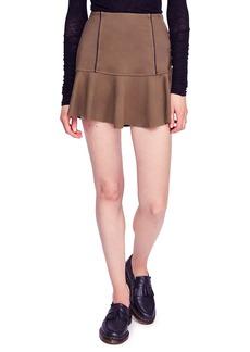 Free People Highlands Miniskirt