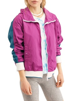 Free People Highline Colorblock Bomber Jacket