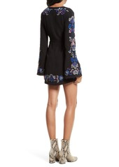 Free People Holiday Embroidered Minidress