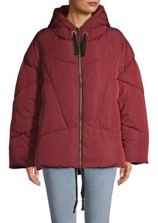 Free People Hooded Puffer Coat
