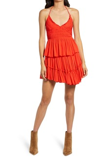 Free People Hooked On You Halter & Skirt Set