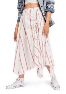 Free People Hooked on Your Love Midi Skirt