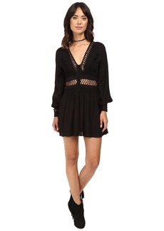 Free People I Think I Love You Mini Dress