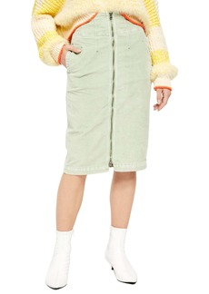 Free People I Want It All Cord Skirt