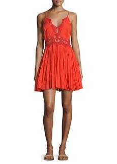 Free People Ilektra Cotton Mini Dress