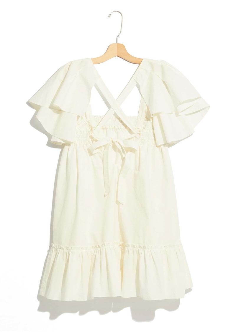 Free People Imogene Babydoll Minidress