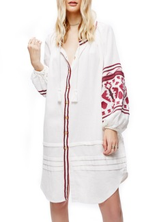 Free People In the Clear Embroidered Tunic