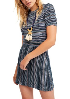 Free People Into You Minidress