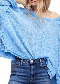 Free People Island Girl Hacci Tee