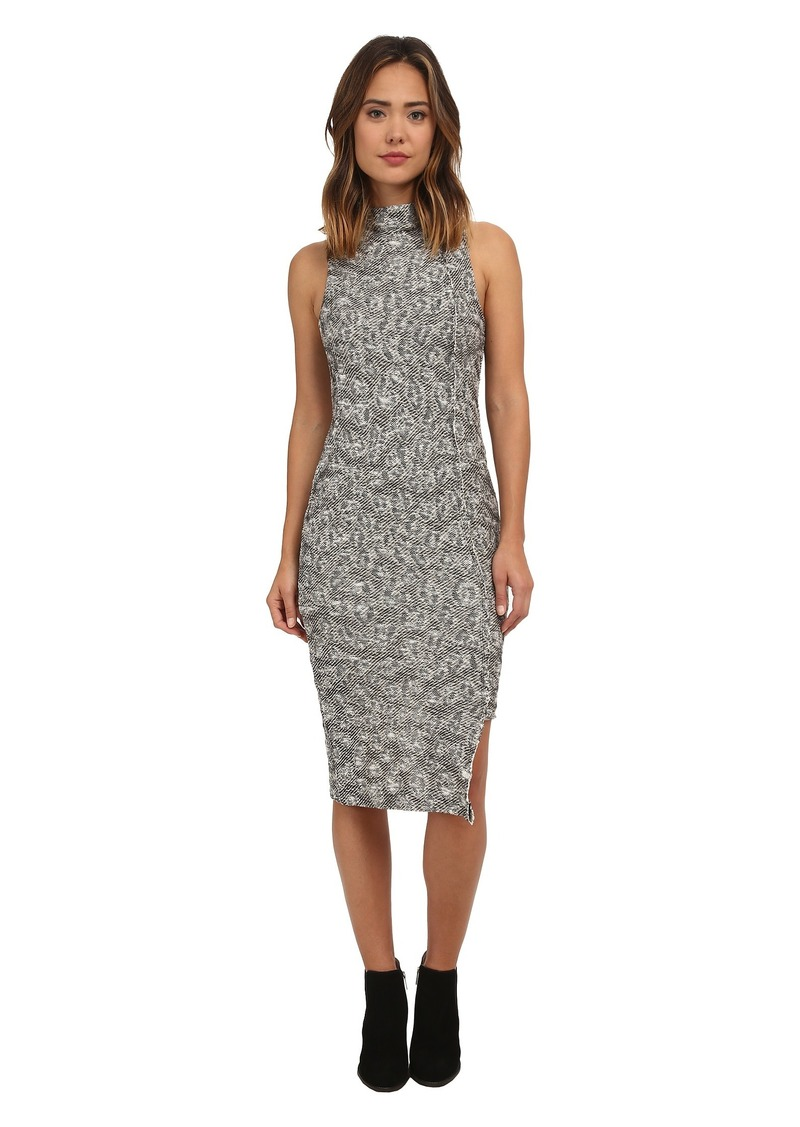 Free People Jacquard Cora Midi Dress