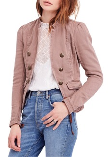 Free People Jagger Open Front Blazer