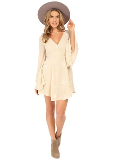 Free People Jasmine Embroidered Mini Dress