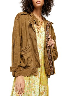 Free People Jayde Safari Jacket