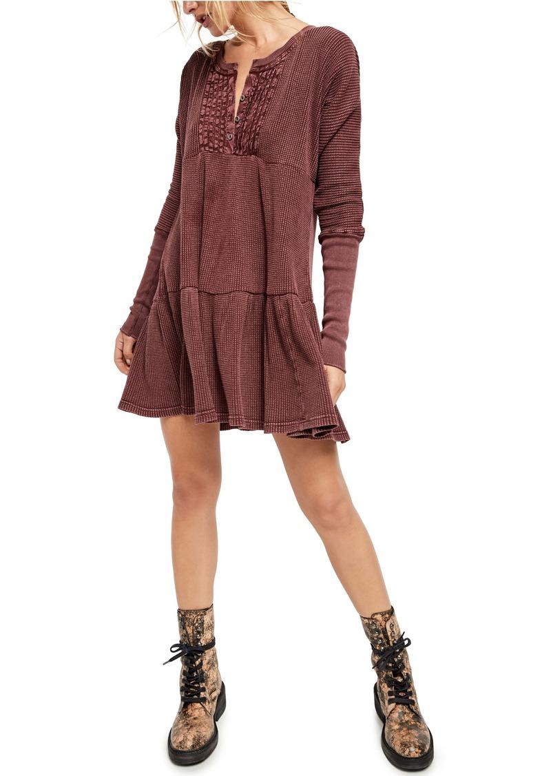 Free People Jolene Long Sleeve Minidress