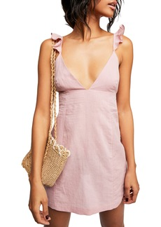 Endless Summer by Free People Jose Linen & Cotton Minidress