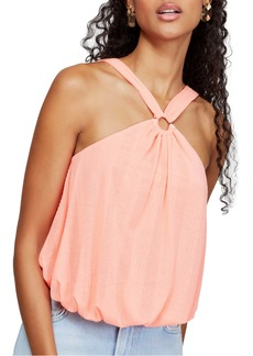 Free People Just a Fling Halter Tank