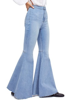 Free People Just Float On High Waist Flare Jeans