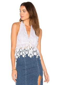 Free People Just Like Heaven Tunic in White. - size L (also in M,S)