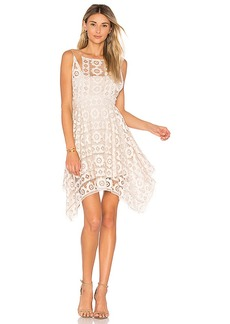 Free People Just Like Honey Lace Dress in White. - size 0 (also in 2,4,6,8)