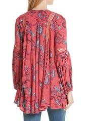 12377249953 Free People Free People Just the Two of Us Floral Tunic   Casual Shirts