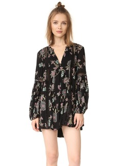 Free People Just The Two Of Us Printed Dress