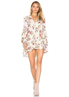 Free People Just the Two of Us Tunic Dress in White. - size M (also in L,S)